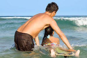 surfing Maui