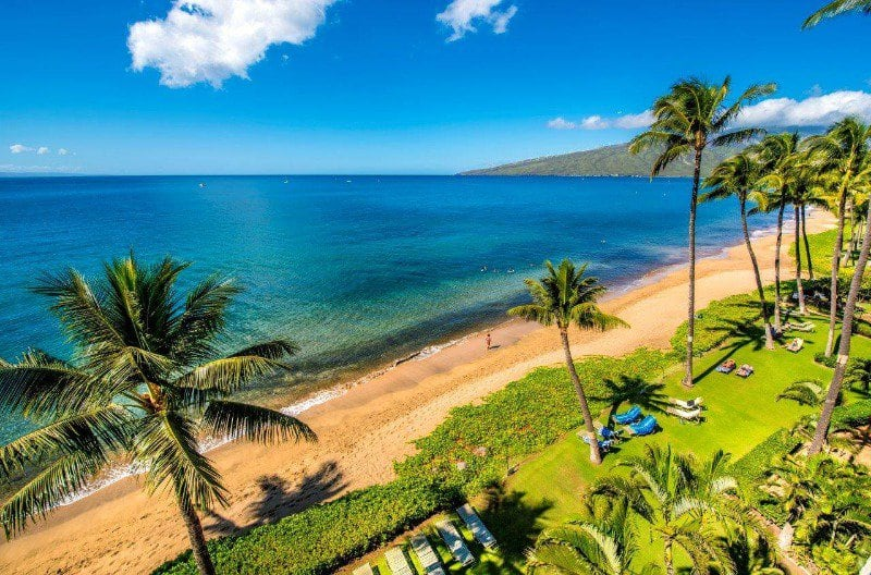 Kihei Beach Resort View