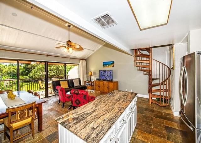 photo of a Koa resort rental interior